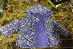 Toddler coat size 18 months girl